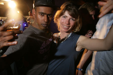 House Music London Photo Gallery: BeGood at Altitude 2009 - Dub Pistols Aftershow Party with Brandon Block, Barry Ashworth and BeGood at Le Loft on Wed 1 April 2009  with John Spacey and Ryan Stern