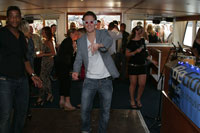 House Music London Photo Gallery: BeGood on The Thames VIII at M.V Golden Flame on Sat 12 July 2008 with John Spacey and Ryan Stern