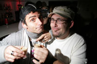 House Music London Photo Gallery: BeGood in Chelsea with CantinaHouse - DJ Gianluca Ghezzi at Mamilanji on Thur 27 Nov 2008 with John Spacey and Ryan Stern
